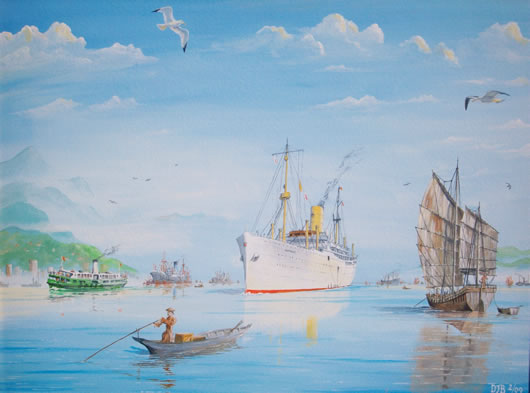 Painting of the Carthage