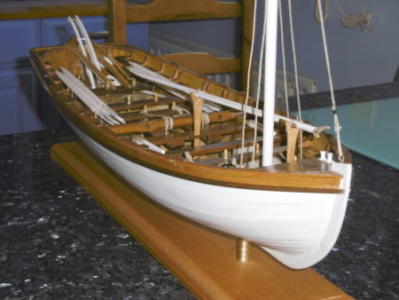 "Model of HMS ""Victory"" launch"