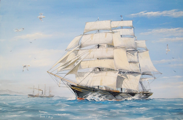 Tea clipper Cutty Sark 1