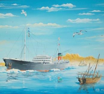 British Merchant Ship