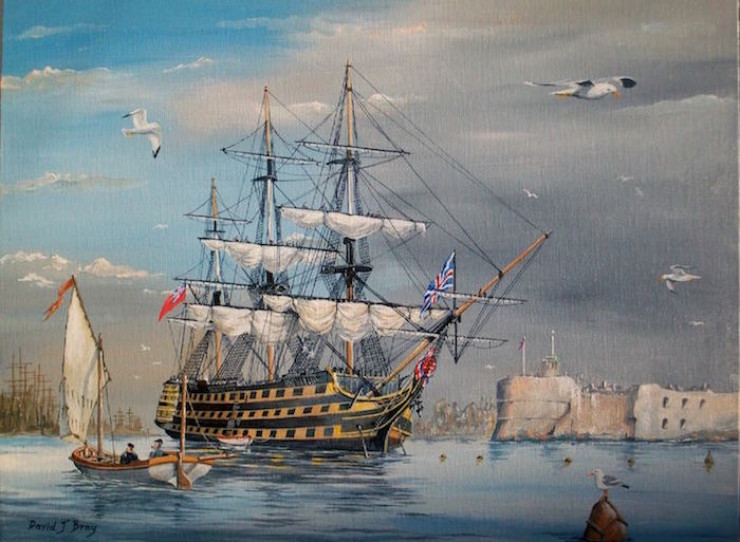 'HMS Victory' at Portsmouth