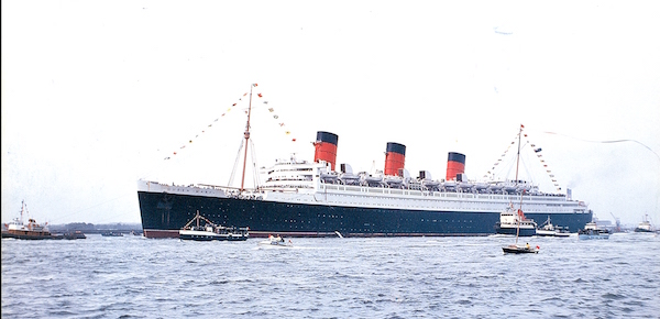 Queen Mary in Southampton, 1969