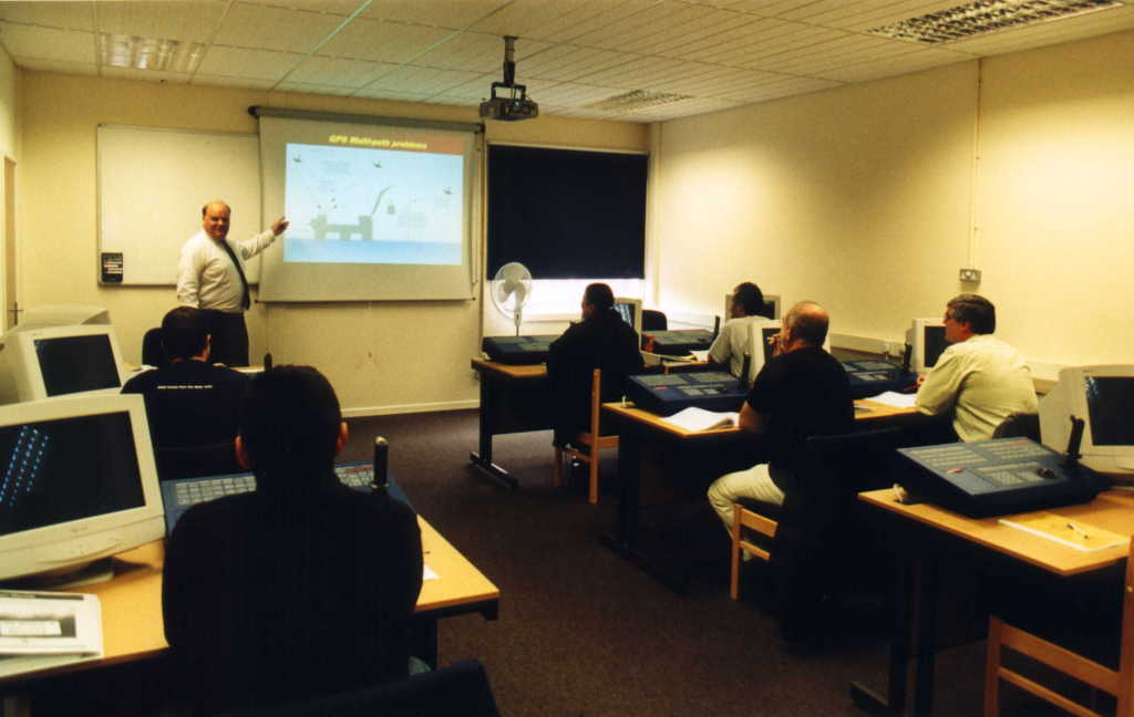 Dynamic Positioning class at Lowestoft College