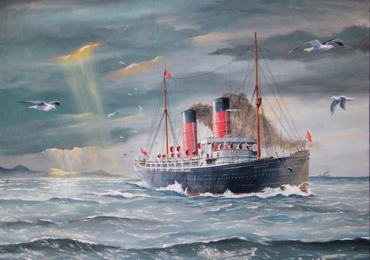 Cunard Liner 'Campania'